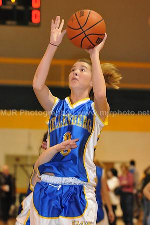 St John's Vs Kellenburg Girls Varsity Basketball 3-2-08