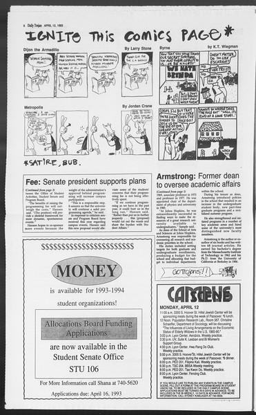 Daily Trojan, Vol. 119, No. 55, April 12, 1993