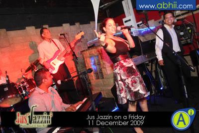 Jus Jazzin- 11th December 2009