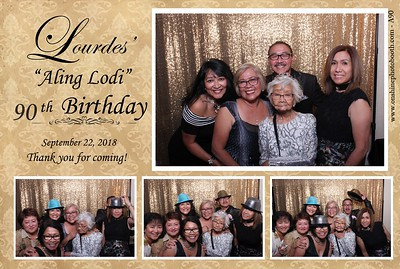 Lourdes' 90th Birthday