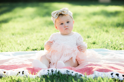 Hallie's 1st Birthday - Oct 2019