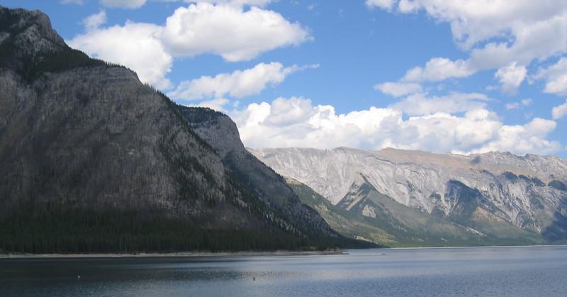 Lake Minnewonka near Banff