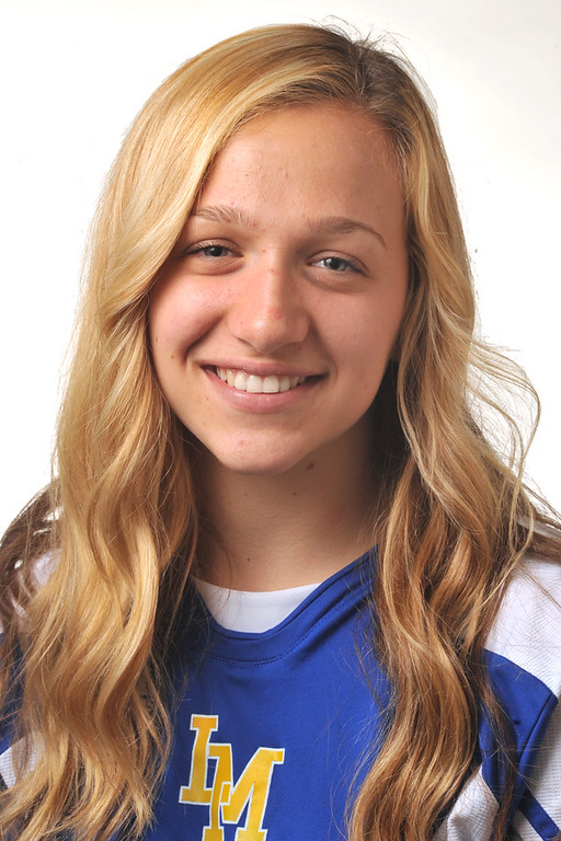 . Madeline Panozzo from La Mirada High School was selected to the Whittier Daily News All-Area Girls Soccer team on Wednesday March 27, 2013. (SGVN/Staff Photo by Keith Durflinger)