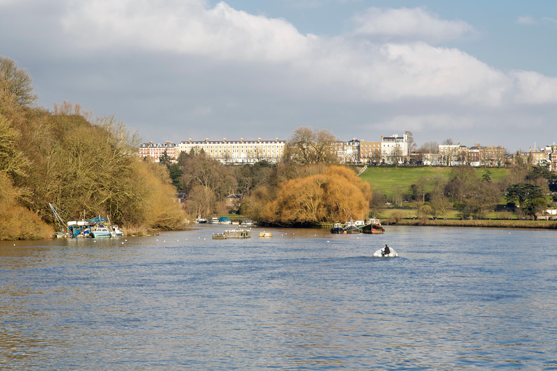 View Towards Richmond Hill, London