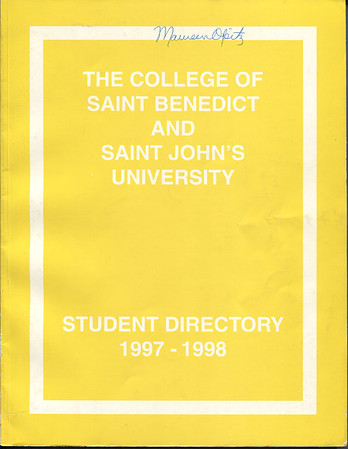 1997-1998 Student Directory