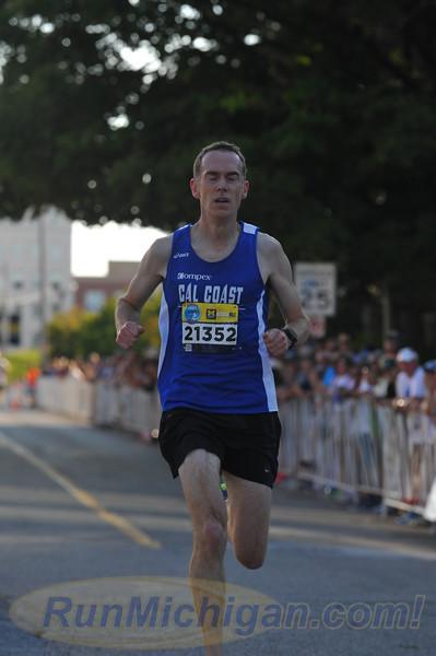USATF Men's Masters Mile Finish - 2016 Crim Festival of Races