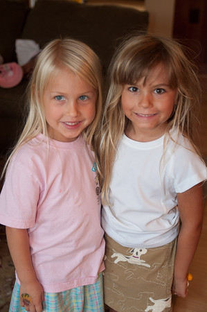 Charlotte and Amelia - Aug 2012