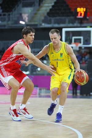Australia v Croatia 2011
