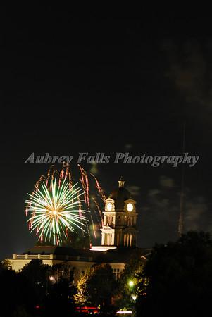 Greenwood 4th Fireworks 2009