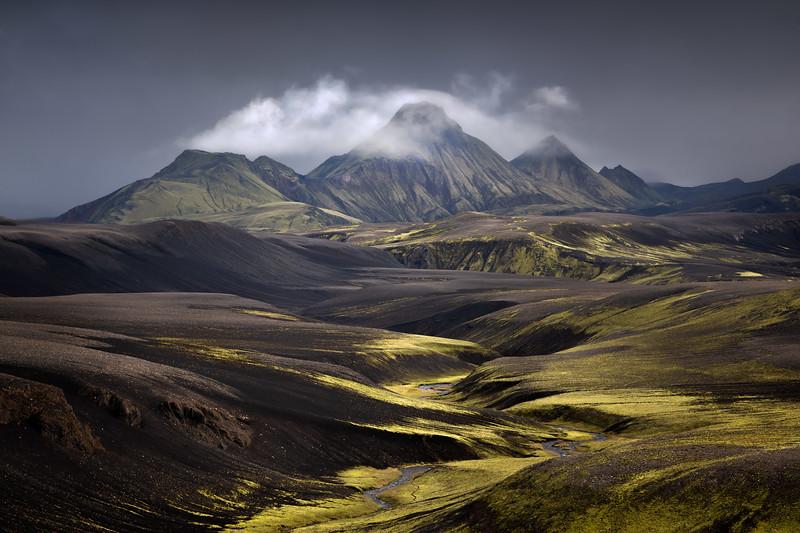 Uxatindur moody Iceland Highlands langisjor landscape photography.jpg