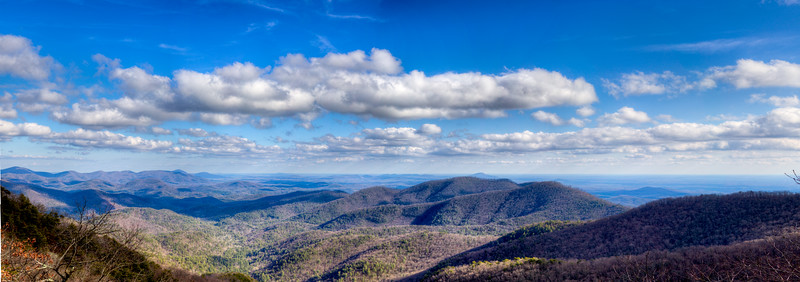 View from Preaching Rock on the Appalachian Trail