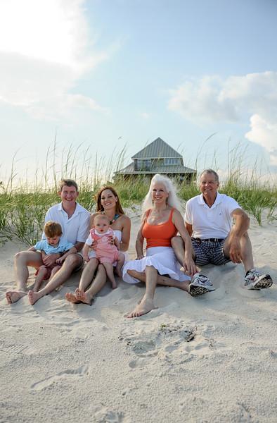 Schlitt Family- Saint George Island