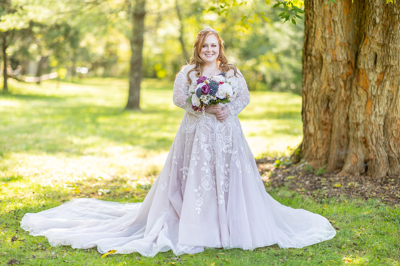 Alexa | Bridal Session in Charlottesville, VA