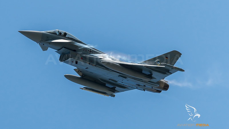 German Air Force TLG74 / Eurofighter Typhoon / 30+70