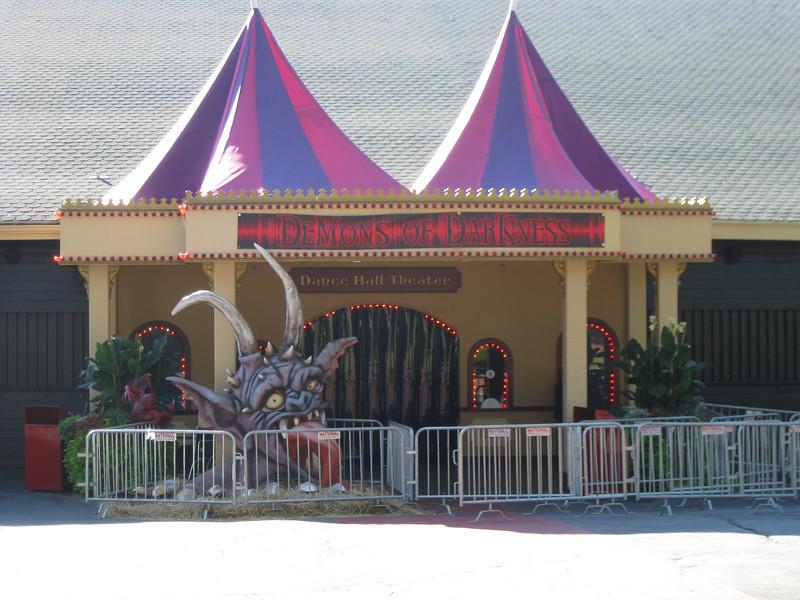The Demons of Darkness haunt was held in the Dancehall Theater.