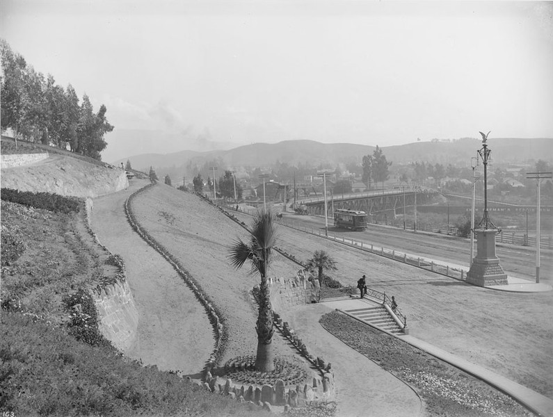 1900, North Broadway Entrance to Elysian Park