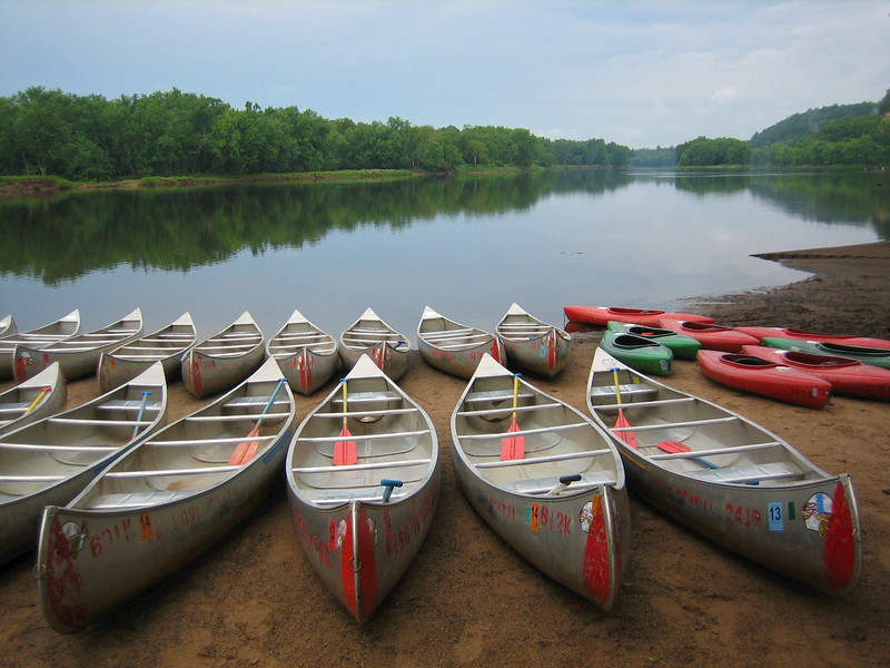 The St. Croix River from the boat landing in Interstate State Park MN. A Rover trip during  Wannigan Days July 20 & 21 2012.
