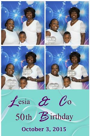 Lesia & Co 50th Birthday