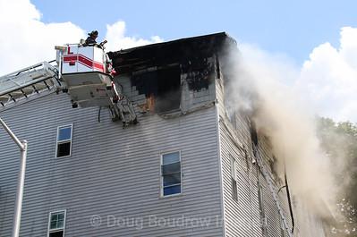 Worcester, MA - 3rd Alarm 39 Birch Street, 7-25-19