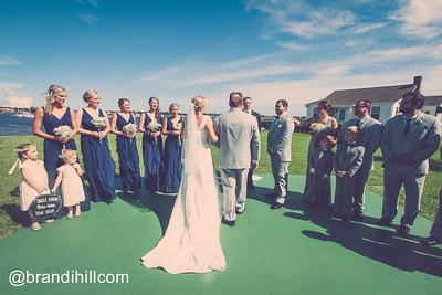 Lisa and Carson's Wedding at St. Francis Barracks