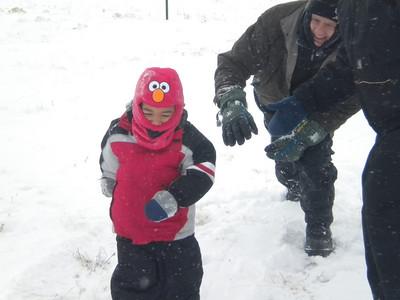 Snow fun in February 2010