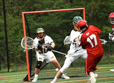 BBA Boys Varsity Lacrosse vs Raiders photos by Gary Baker