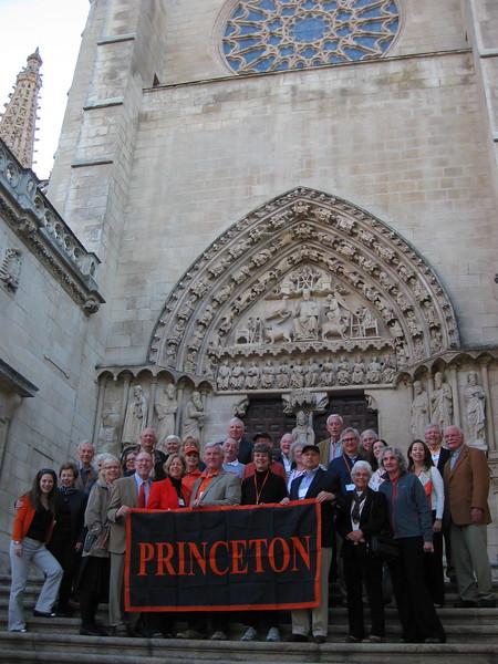 Princeton Pilgrims at Burgos Cathedral - Johanna Frymoyer *12