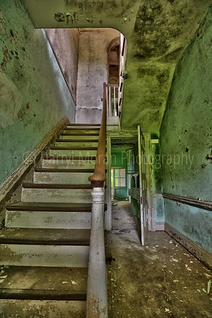 Staircases in Abandoned Places