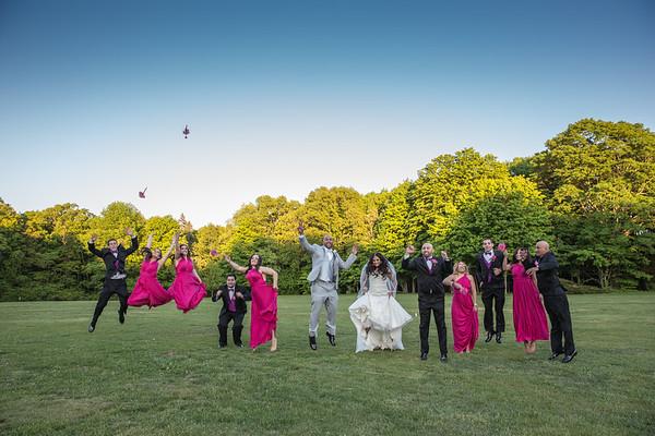Bridal Party + Family