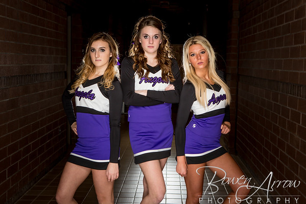 Cheerleading Team Winter