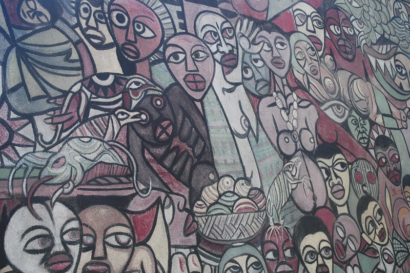 Malangatana in Maputo - Leslie Rowley