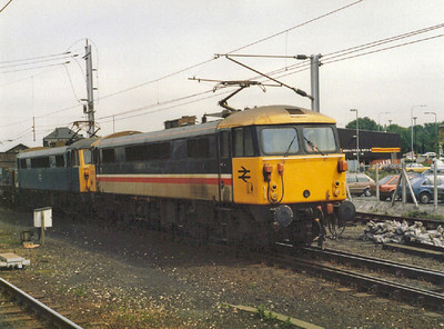 Class 86/0 (BR Doncaster & English Electric Vulcan Foundry)
