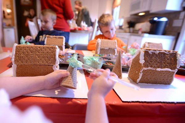 McDevitt Gingerbread House Party  11-16-13