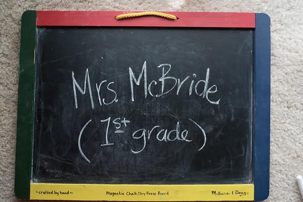 Mrs. McBride - (1st Grade)