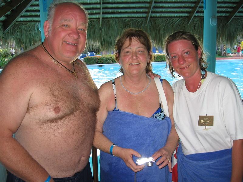 Ed Regina and Terri