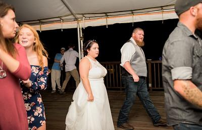 Emily + Robbie // reception