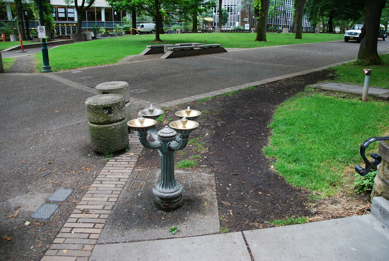 Bubblers downtown