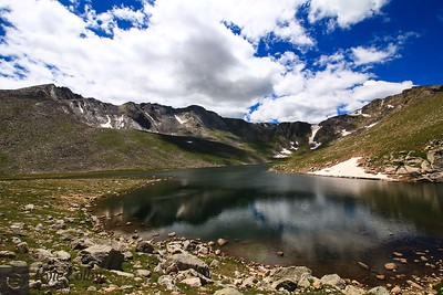 Mt. Evans from Summit Lake