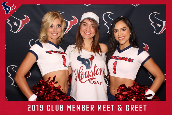 Texans Club Member Meet & Greet - Photos