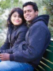 Shankar Gayathri Couple Shot