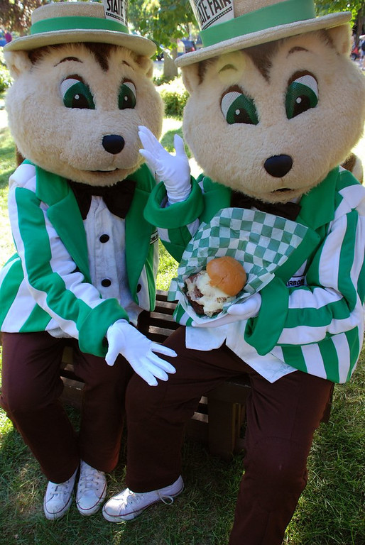 . <p>36. GOPHERS <p>Share one important trait with humans: Not very interested in the National Invitation Tournament.  (Photo courtesy of Minnesota State Fair)