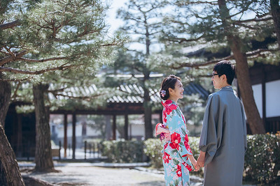 Prewedding-京都-Christine