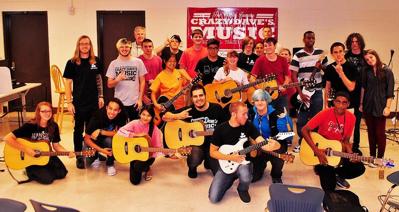 Guitar Club - Photos by Destiny Holmes