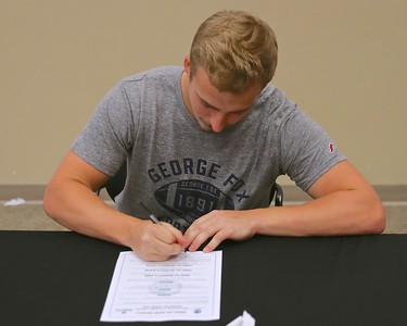 Gurney Brothers Sign to Play Football @ George Fox 6-06-2017