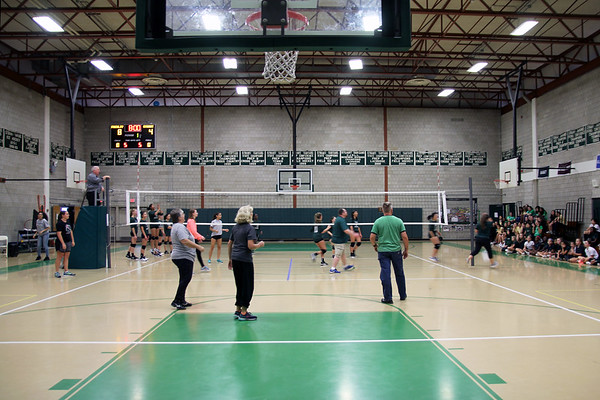 Faculty Volleyball Game