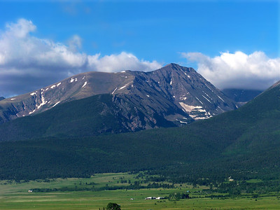 Humboldt Peak, Sangre de Cristo range