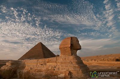 Pyramids around Cairo, Egypt
