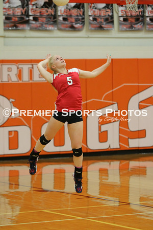 La Porte JV Volleyball vs Manvel 9/3/2014