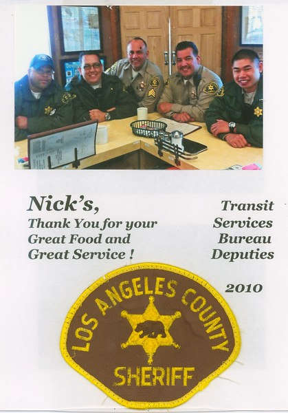2010, Sheriffs Say Thanks