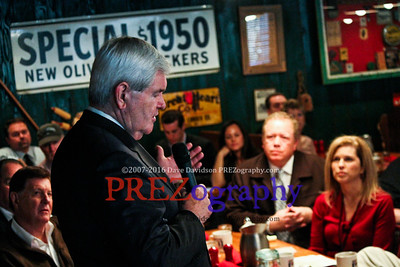 Newt Gingrich Jeff Mullen Breakfast